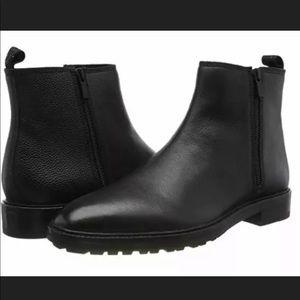 Hugo Boss Bohemian Leather Zip up Chelsea Boots